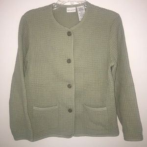 White Stag 4 Button Cardigan Size Small